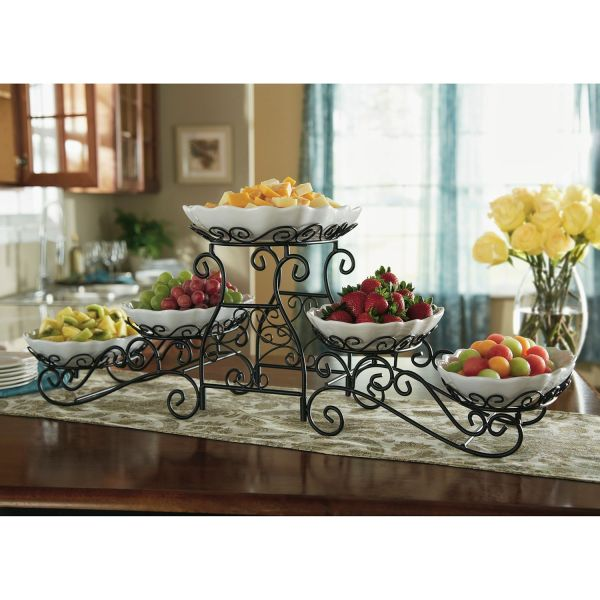 Tiered Buffet Server Kitchen Gadgets And Serving Dishes