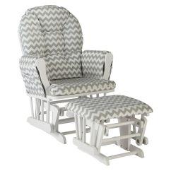 Target White Rocking Chair Recliner Ikea Storkcraft Hoop Glider Grey Chevron Baby 2