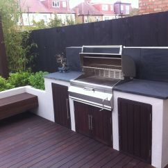 Built In Kitchen Seating Cabinets Philadelphia Bbq Area With Bench Outdoor