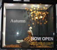 Autumn Window Display + VM Training, VM+,Bribane ...