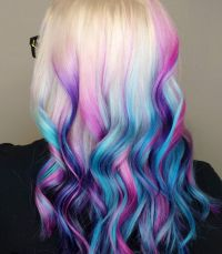 Colorful dip dye hair | Beautiful Hair | Pinterest | Dip ...