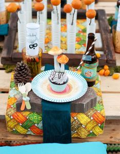 Creepy Halloween Party Treats Boy Birthday Parties Th Also Woodland Rh
