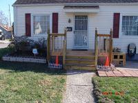 building a front porch/deck/steps/rails over old concrete ...
