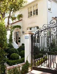 wrought iron gate designed specifically for the driveway of this  house also an airy caribbean inspired designs rh pinterest