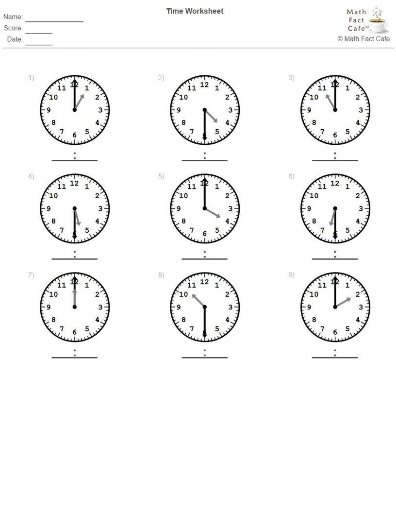 worksheet. Time To The Half Hour Worksheets. Grass Fedjp