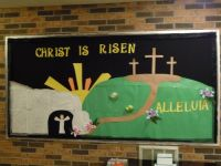 bulletin board decorations for lent | Lent bulletin board ...
