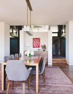 Tour the los angeles home surrounded by stunning views also pink rug rh pinterest