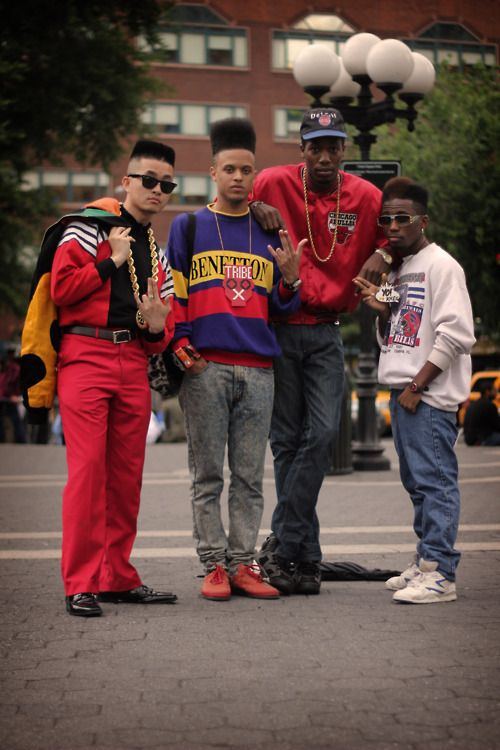 80s Hip Hop Fashion Girls