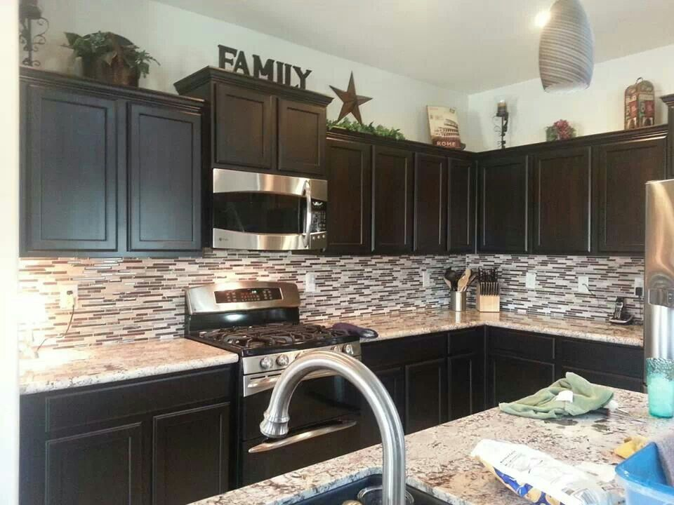 greenery above kitchen cabinets cheap carts like the decor on top of | pinterest ...