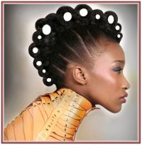 Sweet Wedding Hairstyles For Afro Caribbean Hair Idea More ...