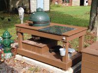 Elegant Design Outdoor Kitchen Ideas With Rectangle Shape ...
