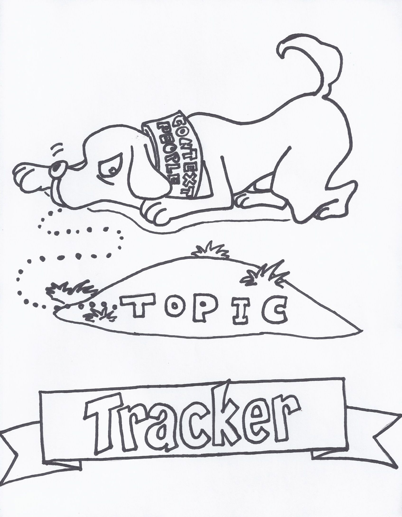 Topic Tracker: I help you stay on the right track or topic