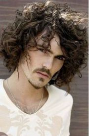 curly hairstyles men haircuts