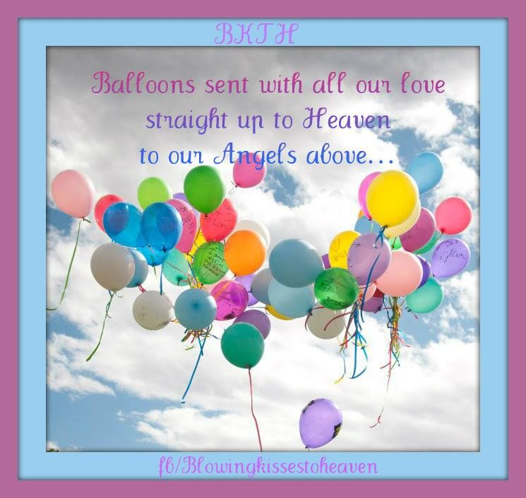 Image result for balloons to heaven birthday