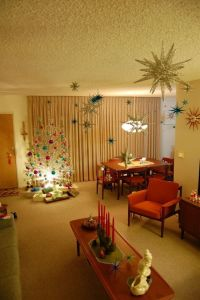 Mid Century Modern Christmas | December is Sparkle Time ...