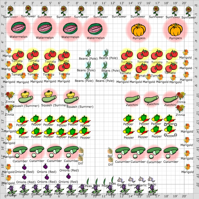 Vegetable Garden Layout Diva's Garden 2012 Vegetable Garden