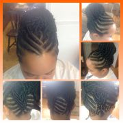 features of stuffed twist hairstyles
