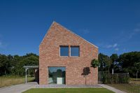 Modern gabled brick house in the Netherlands ...