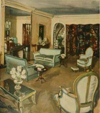 1930s Living room by David Mode Payne | 1930s, Living ...
