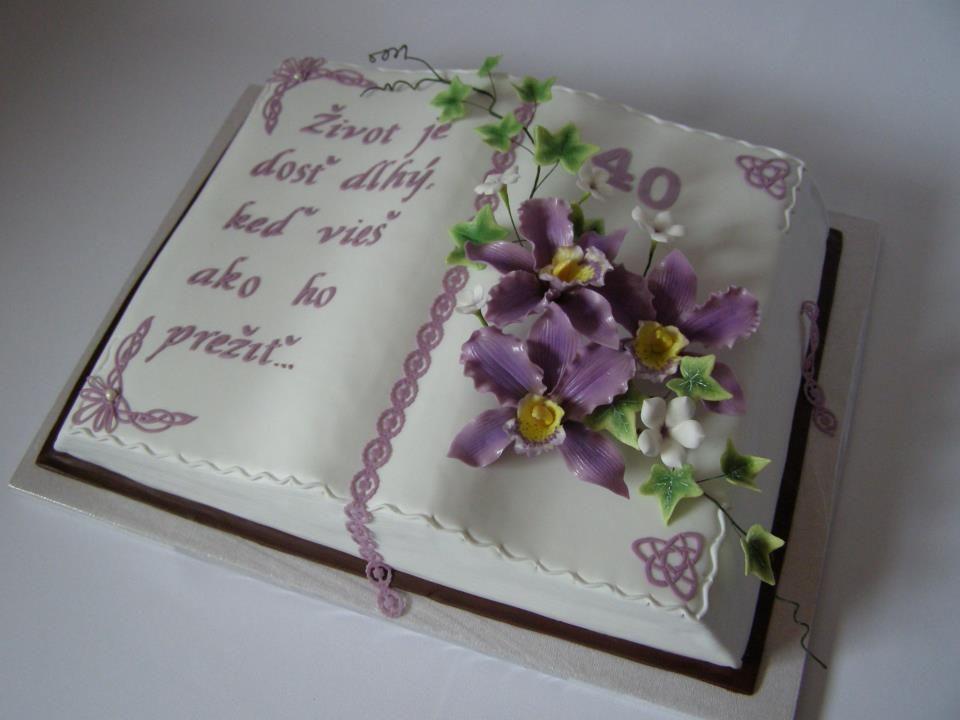 Torta Kniha Zatvorena Hľadať Googlom In Pinterest