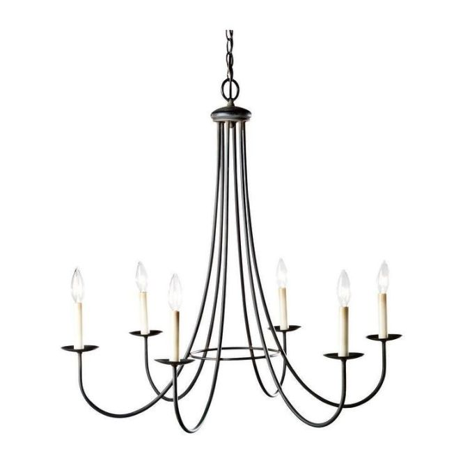 Six Light Iron Chandelier I Ethan Allen