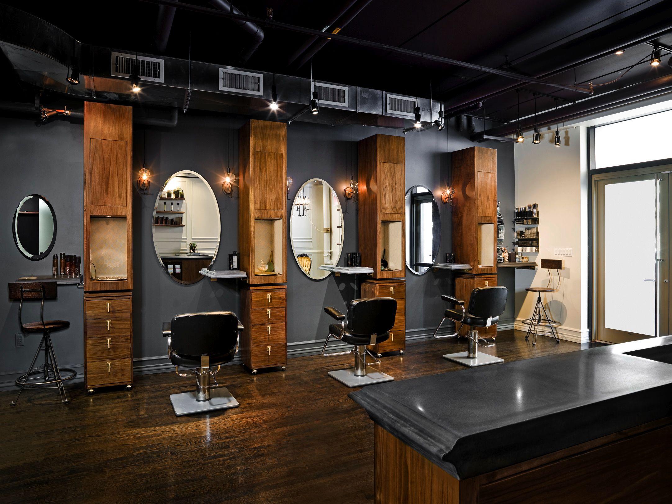 Best 25 Industrial salon design ideas on Pinterest  Industrial salon Hair salons and Salon
