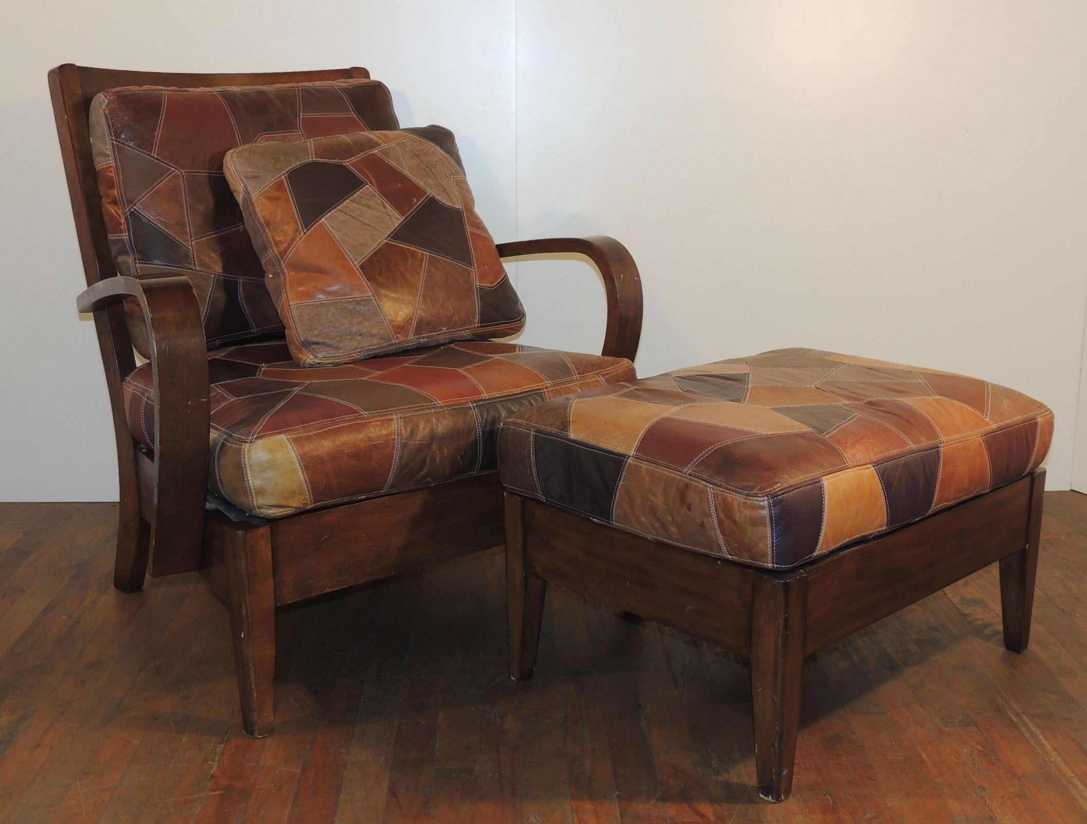 cushion covers for wooden sofa seats sweet sofas las vegas chair with patchwork leather seat and back