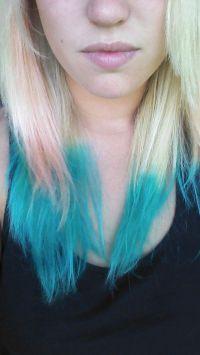Pink and blue. Kool aid hair dye | Fashion | Pinterest ...