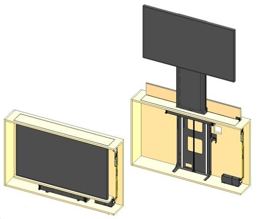 End Of Bed Tv Lift Cabinets Uk