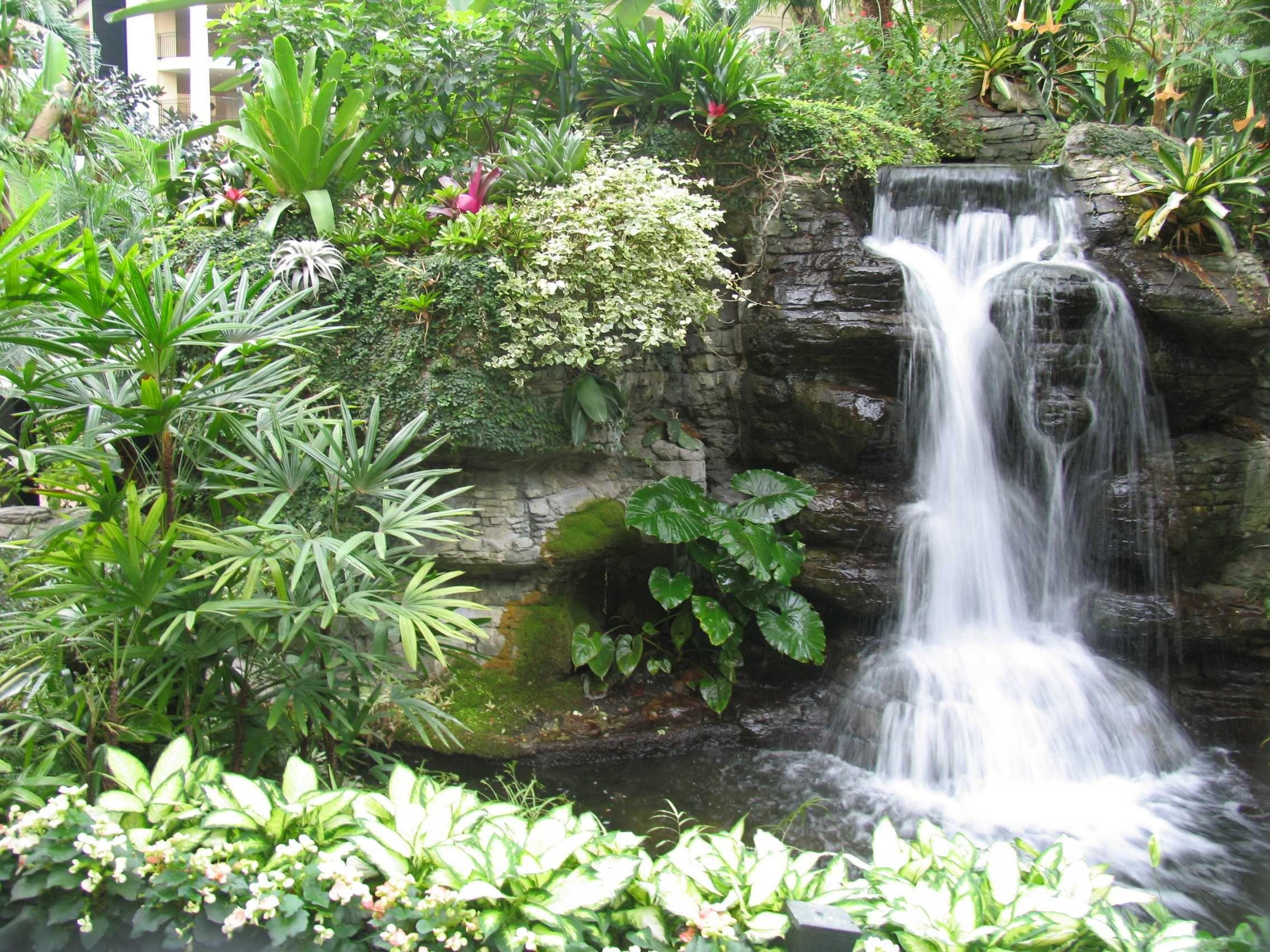 Water Garden Waterfall Garden Waterfall Design 9 E1281724620820