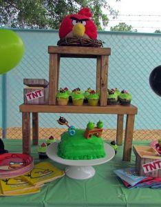 Angry birds birthday party ideas also bird parties rh pinterest