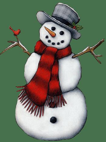 christmas snowman clip art bonhomme