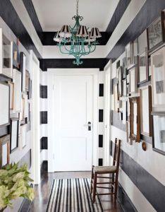 Design inspiration bold black stripes also hallways and rh pinterest