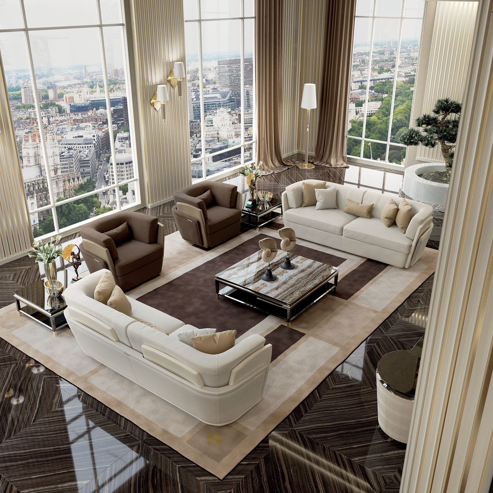 Blanche Collection www.turri.it Luxury living room