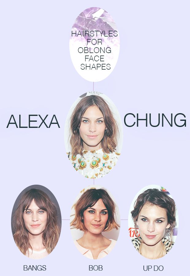Hairstyles For Oblong Face Shapes Beauty Hair Pinterest