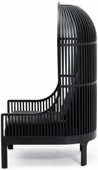 Nest-Chair-by-Autoban-Black-Side-View |  | Pinterest ...