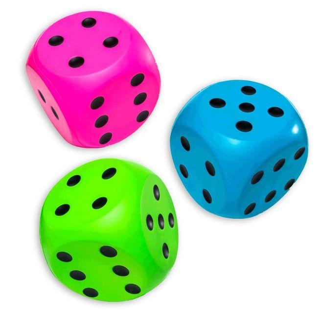giant foam dice  room  Five Below  Basic Math Skills