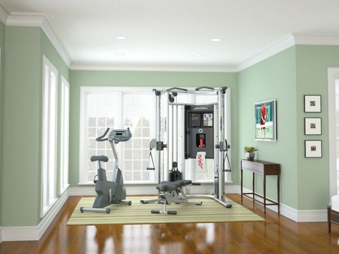 At home gym decorating ideas valo i