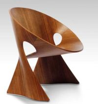 unique wood chairs | ... timber format wooden chairs with ...