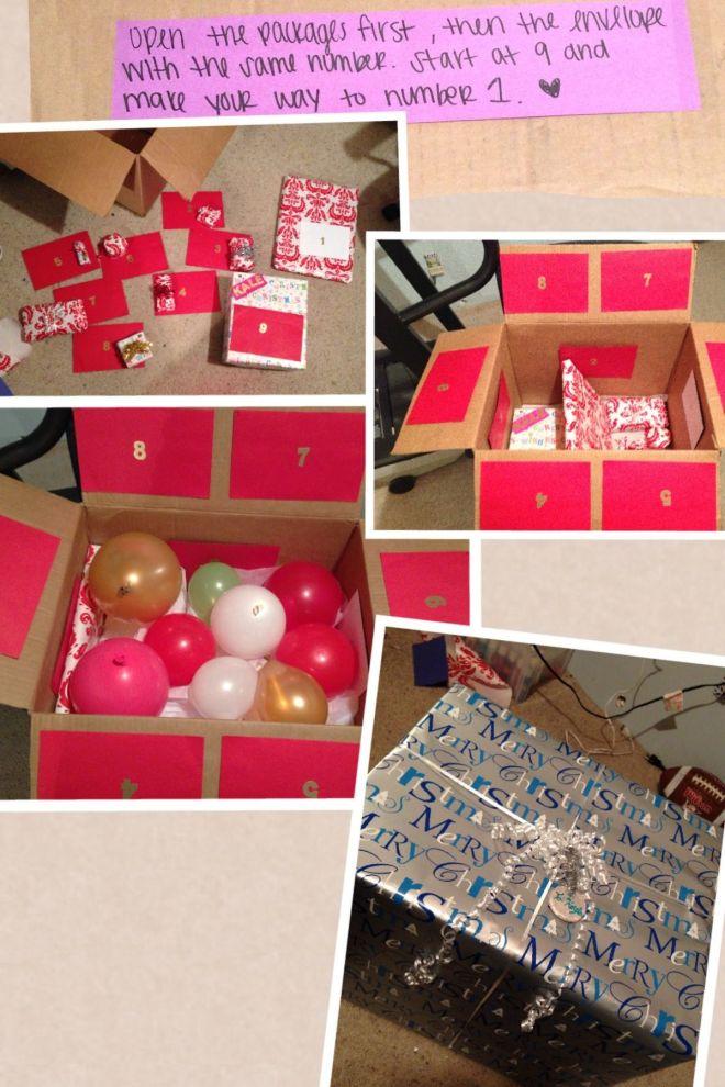 diy gift box ideas
