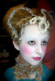 elizabethan hair & makeup