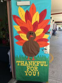 Thanksgiving Classroom Door