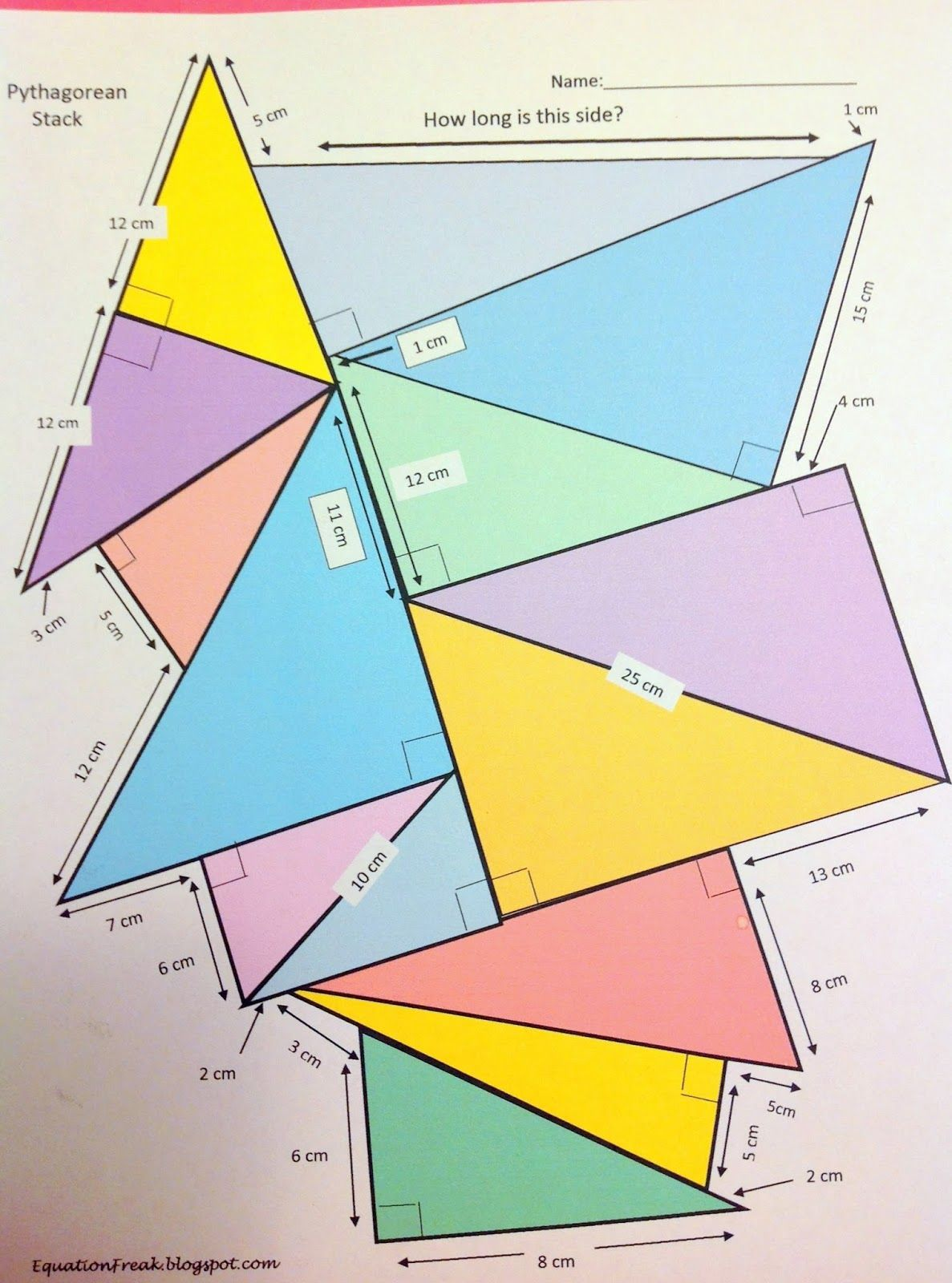Equationfreak Blogspot Search Label Pythagorean