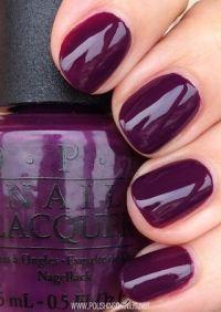 OPI fall nail polish color | OPI, Fall winter 2014 and ...