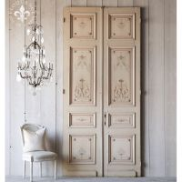 Home Incredible Pair Of Hand Painted French Interior ...