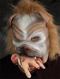 Scary halloween costume for dogs