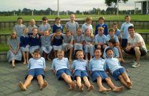Boy Barefoot Schools