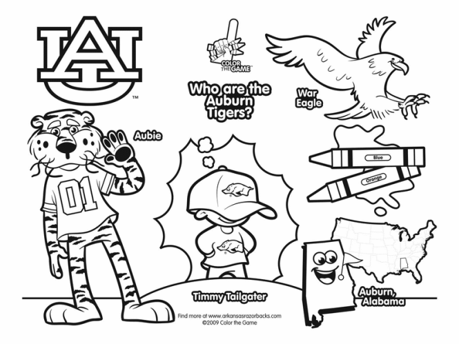 Free College Logo Coloring Pages | Coloring Page for kids