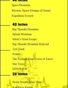 Post has height requirements and restrictions for walt disney world parks rides attractions adventures by also how tall to ride space mountain rh pinterest