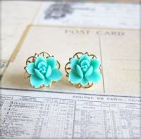 Tiffany Blue Bridesmaids earrings | Maddy's Wedding ...